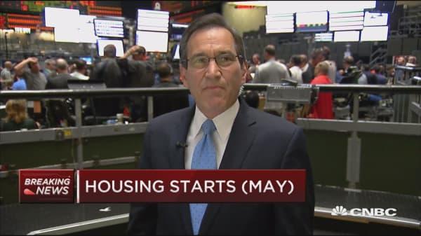 May housing starts down 0.3 percent