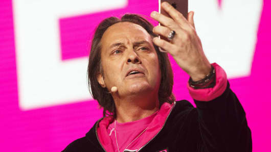 John Legere, chief executive officer of T-Mobile US.