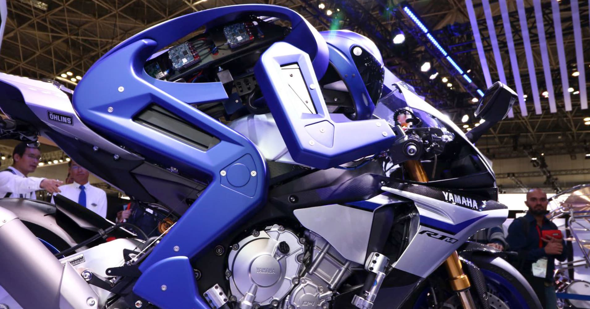 Yamaha Develops Self Driving Motorcycle