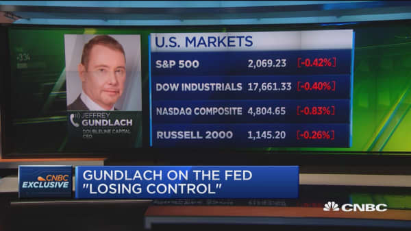 Gundlach: Central bankers don't understand