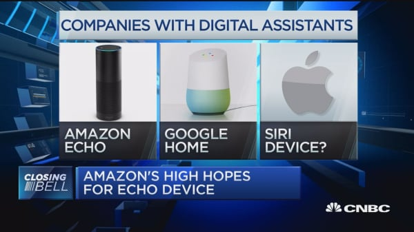 Amazon's high hopes for Echo device