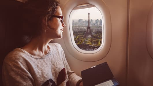 Fly from New York to Paris or London on a $35,000 unlimited pass.