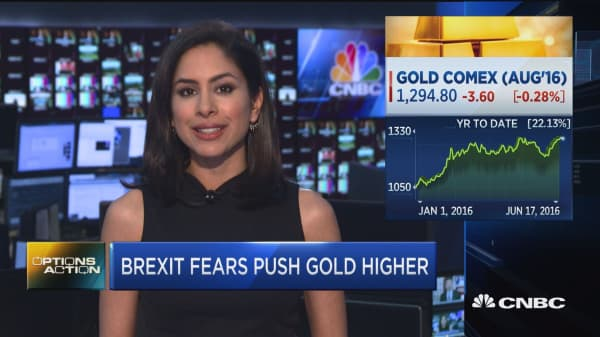 Gold goes wild