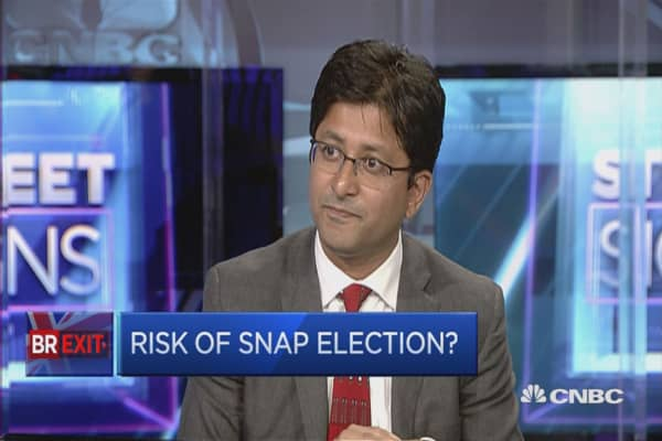 Brexit: Risk of a snap election?