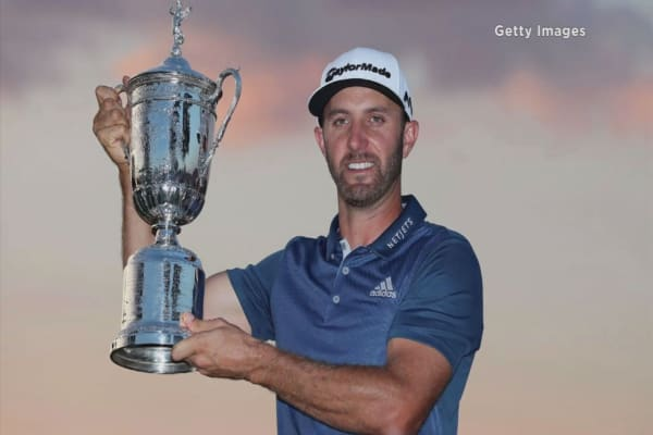 Dustin Johnson shrugs off unusual call to win US Open