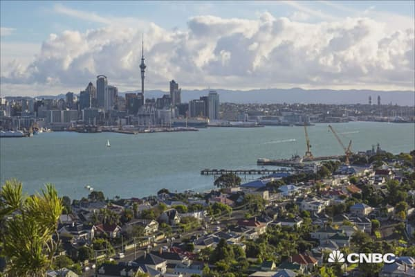 $3,500 to leave Auckland