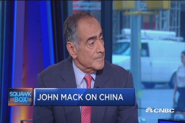 Biggest global risk? Geopolitical: John Mack
