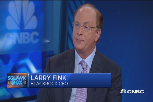 Larry Fink tells retirement savers to expect less