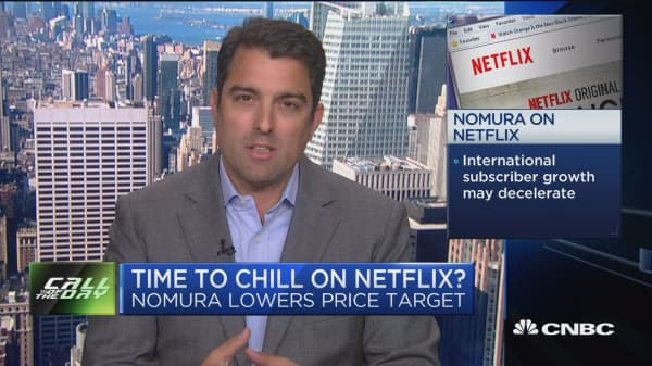 Analyst sees stalling int'l Netflix growth