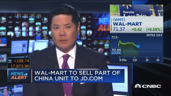 JD.com, Wal-Mart announce partnership