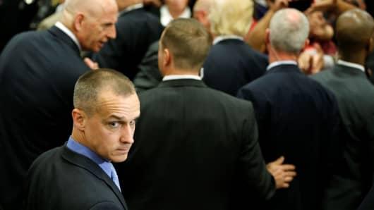 Corey Lewandowski, former Campaign Manager for Donald Trump