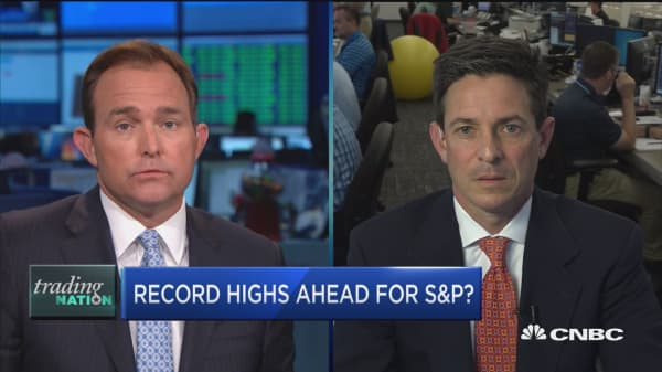 S&P record 'round the corner?