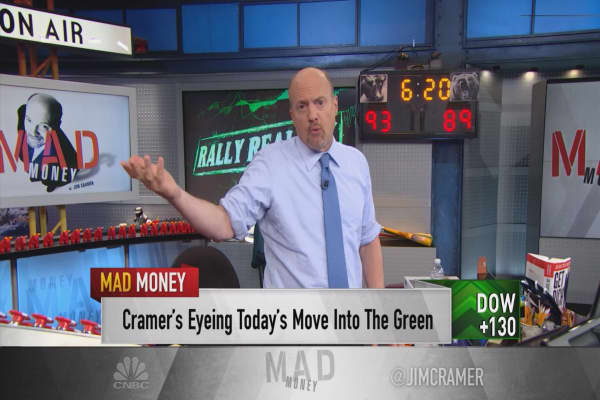 Cramer: Be careful, stock rally is 'robbing Peter to pay Paul'