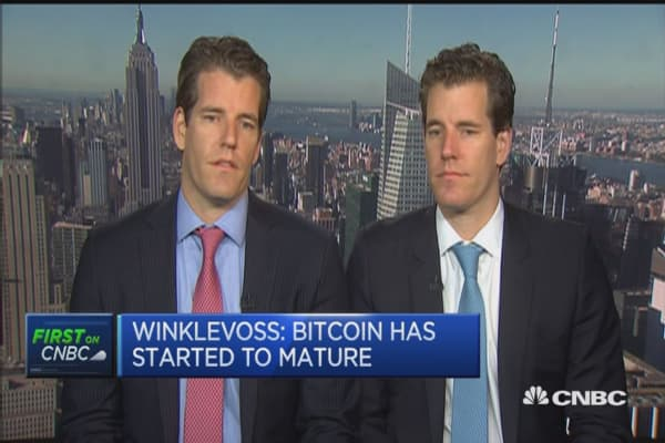 Bitcoin prices have room to appreciate: Winklevoss twins