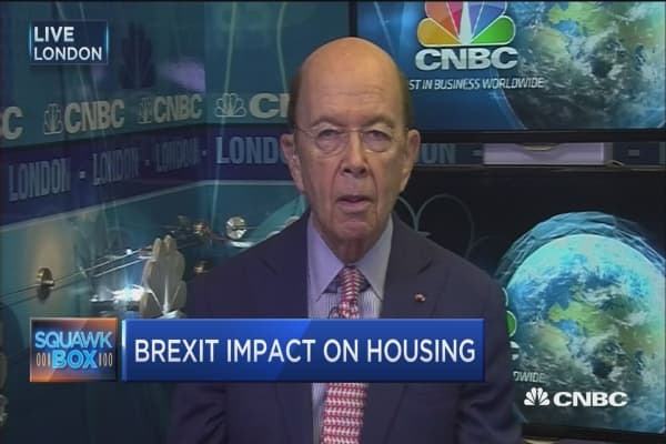 Wilbur Ross: Brexit would be most 'expensive divorce' in history