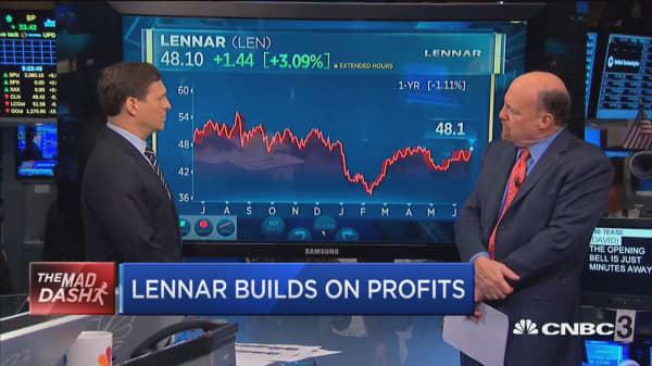 Cramer's Mad Dash: Lennar builds on profits