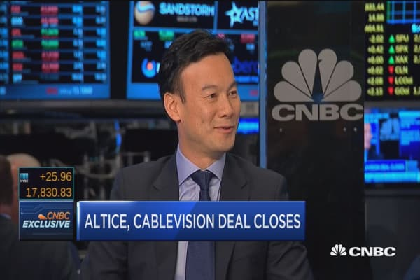 Altice CEO: Going to be focused on the top line