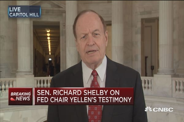 Sen. Shelby: Fed has a credibility issue
