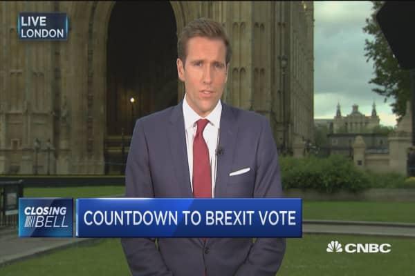 Leave voter 'sickened' ahead of Brexit vote
