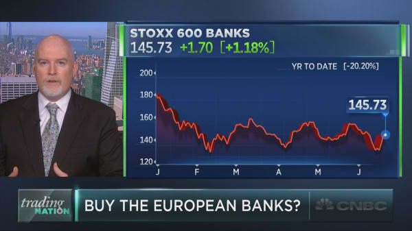 Are European bank stocks worth a second look?