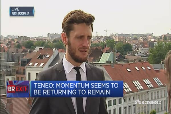 Contagion effect is a factor if Brexit occurs: Teneo