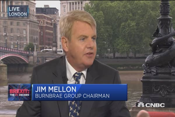Britain better off on 'lifeboat' than EU Titantic: Jim Mellon