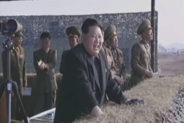 North Korean missile reaches halfway to Japan