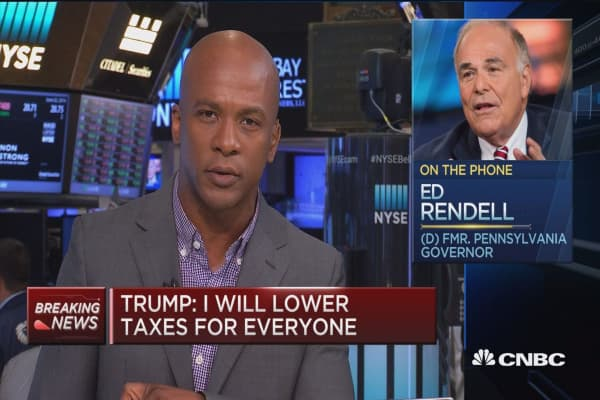 Fmr. Gov. Rendell: Trump's tax plan is totally irresponsible