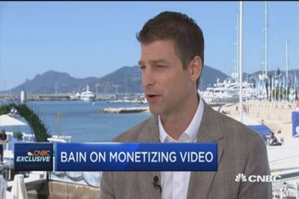 Twitter's Bain on monetizing video