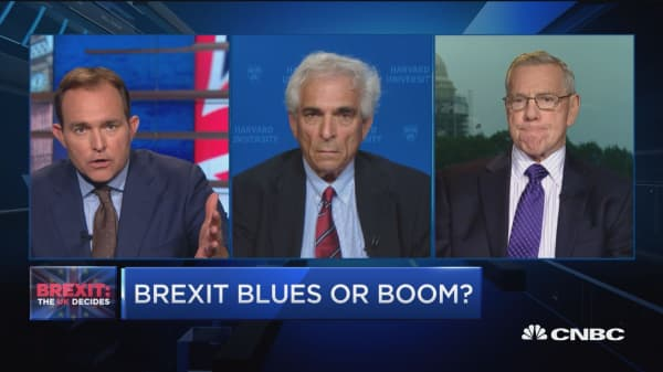 Brexit blues or boom?