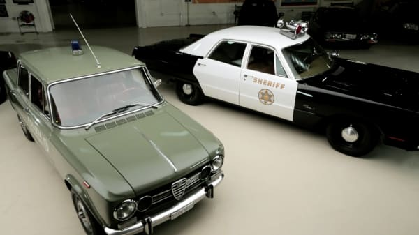 Which retired police cars appreciates best over five years?