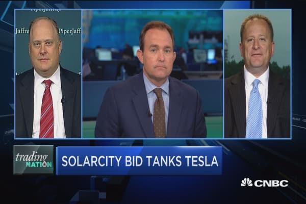 Digesting Tesla's SolarCity bid