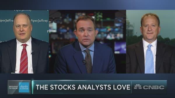 The 5 stocks Wall Street analysts love
