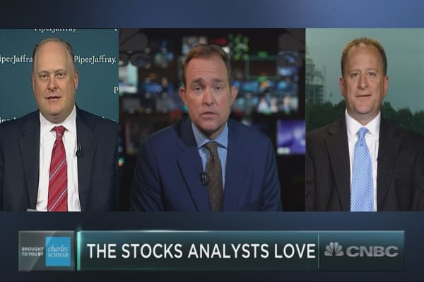 The 5 stocks Wall Street analysts love