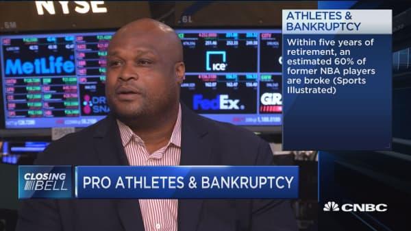 Pro athletes & bankruptcy