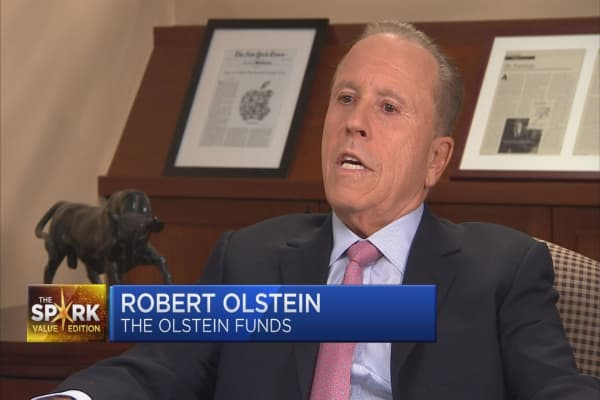 Value Spark: Bob Olstein on the mutual fund industry