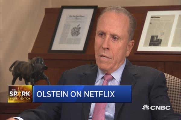 Value Spark: Bob Olstein on Netflix