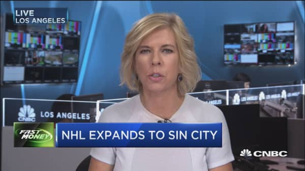 NHL expands to Sin City