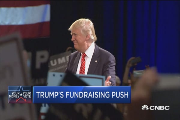 Trump campaign ramps up fundraising