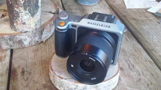 The Hasselblad X1D digital camera