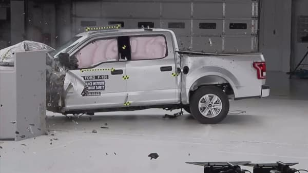 Crash tests raise flags about front-seat safety