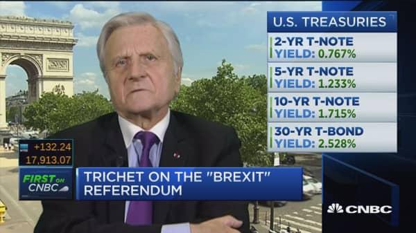 Santelli Exchange: Trichet on Brexit, rates
