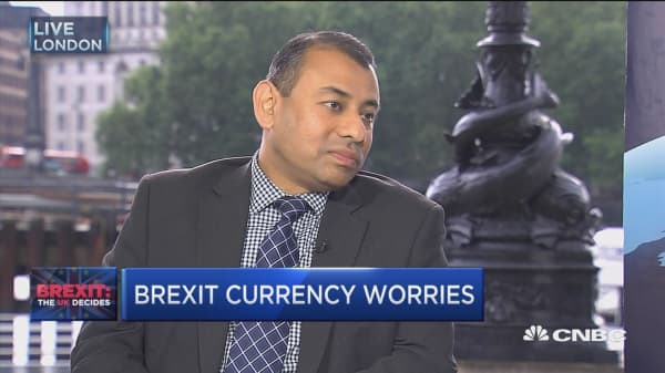Brexit currency worries