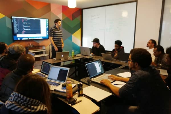 Code Tenderloin's coding classes