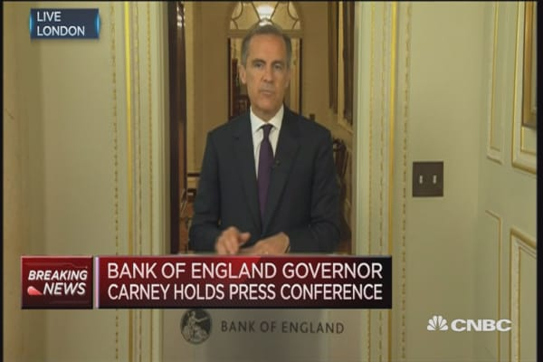 The BoE will take additional measures: Mark Carney