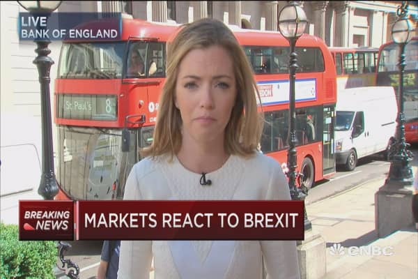 Banks hit hard by Brexit