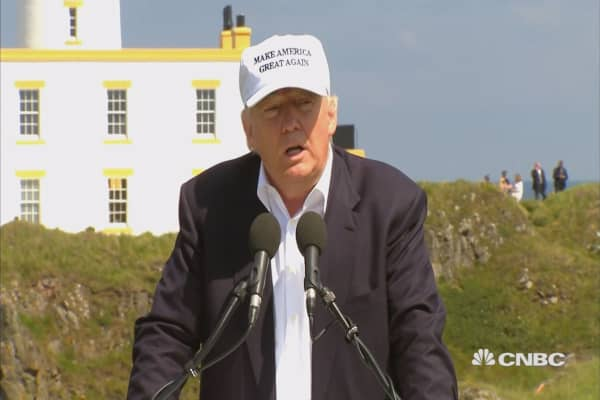 Trump: Brexit will ultimately be a good thing