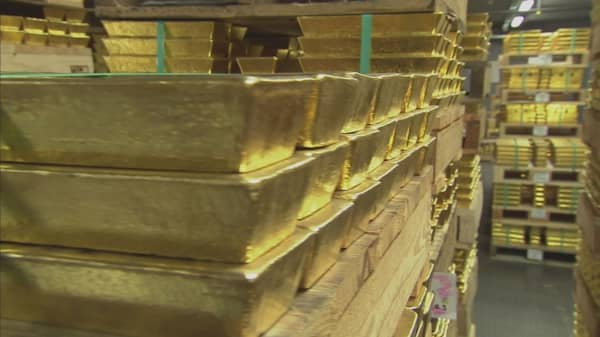 Gold prices soaring following Brexit vote