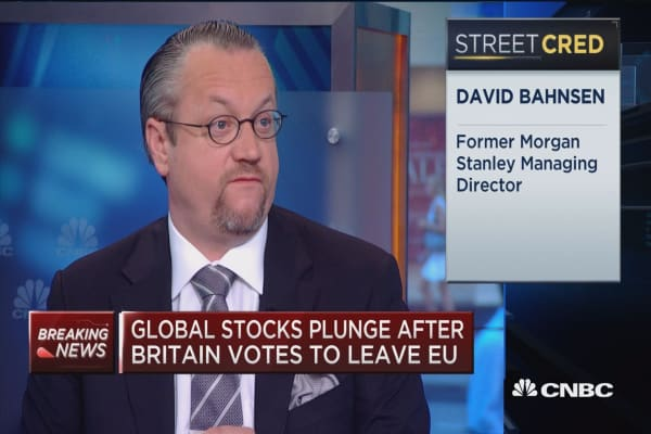 Investors react to Brexit