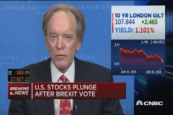 Bill Gross: ECB reaching limit on negative rates